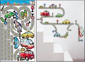 Silnice s autíčky