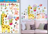 Žirafa a kamarádi